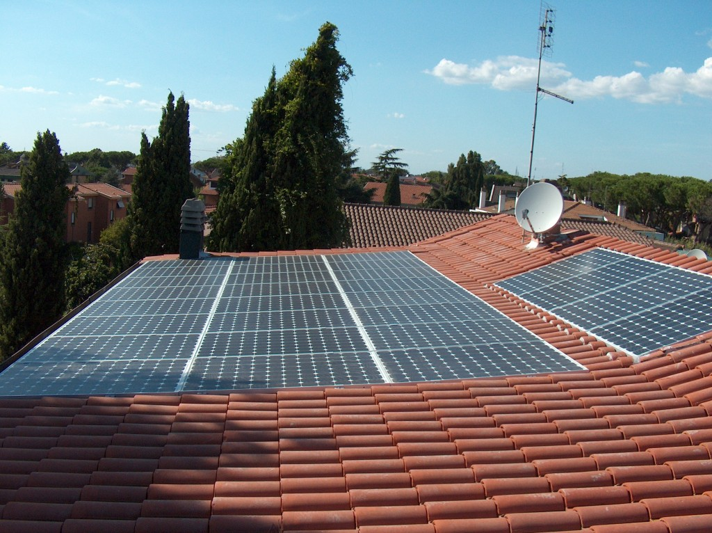Integrato fotovoltaico