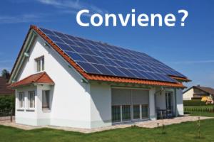 Fotovoltaico-Conviene